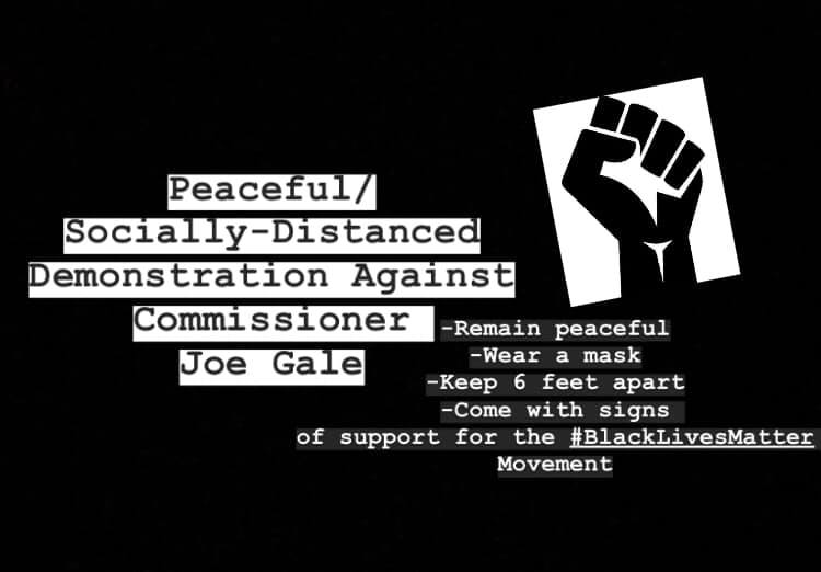 protest against joe gale